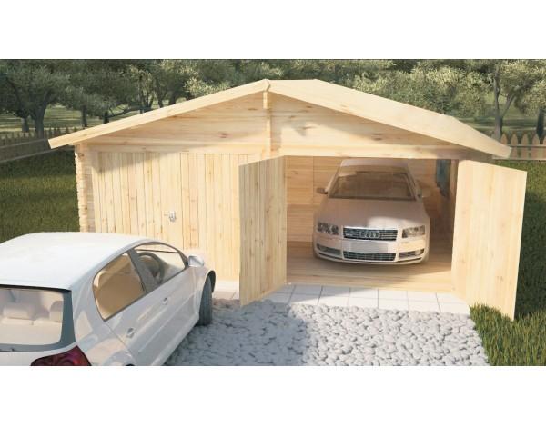 Garaż 2 Auta 40mm Sklepzdomkamipl